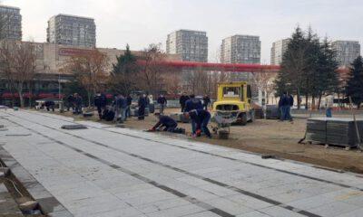 Ankara Yenimahalle'de parklara bakım