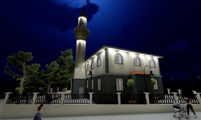 Manisa Akhisar depreminde hasar gördüğü için yıkılan cami yenilenecek