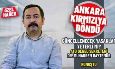 """Ankara Tabip Odası: """"Açık hava da olsa bir araya gelişler önlenmeli"""""""