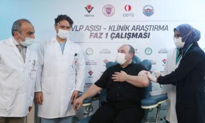 Gönüllü Bakan Varank, yerli aşısını oldu