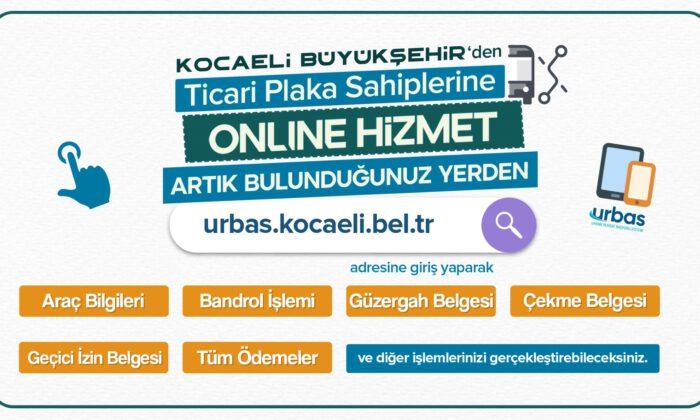 Kocaeli'de ticari plaka sahiplerine URBAS ile hızlı çözüm