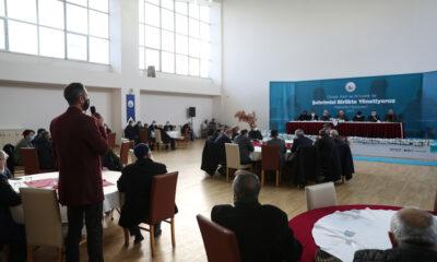 Sivas'ta Mahalle Meclisi toplandı