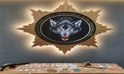 Malatya'da uyuşturucu operasyonu: 17 tutuklama