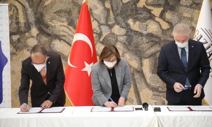 """Gaziantep'te """"Afet Farkındalık Eğitimi"""" protokolü"""
