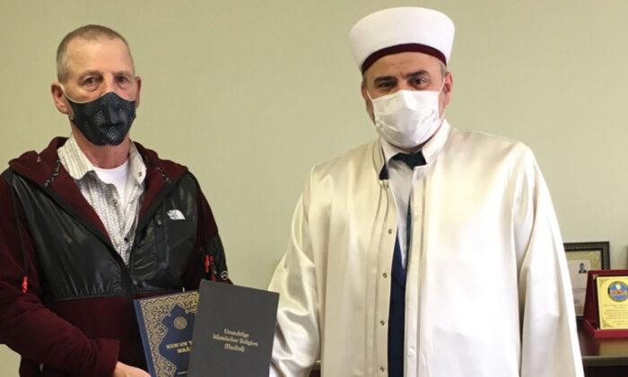 Ramazan ayından etkilenen Alman Hans, Mudanya'da Müslüman oldu