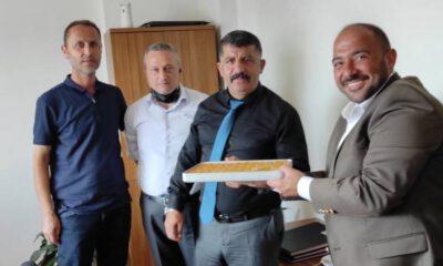 Bursa Gemlik'te polise baklavalı teşekkür
