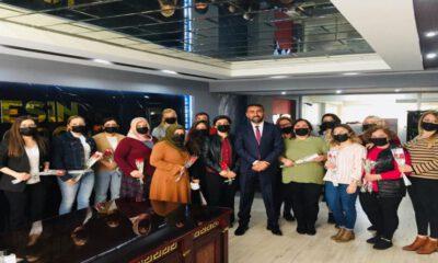 Aydın'da Rıdvan Eşin kadın çalışanlarını unutmadı