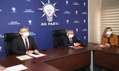 AK Parti'den genişletilmiş il başkanları toplantısı