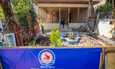 Denizli Şirinköy Kahvehanesi yeniden hayat buluyor