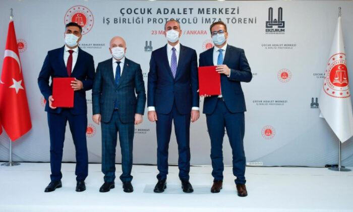 Erzurum'a Çocuk Adalet Merkezi geliyor