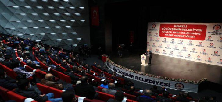 Denizli'de amatör spora 1 milyon 200 bin lira!