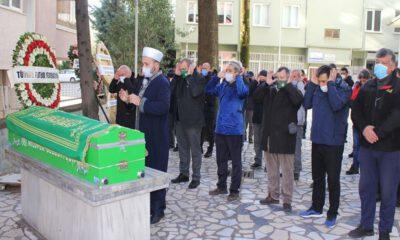 Bursaspor'da Hasan Bora son yolculuğuna uğurlandı